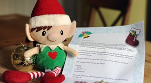 Christmas Elf Good Bye Letter