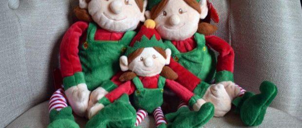 Girl Christmas Elves - Tree Sizes